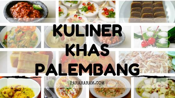 (makanan Khas Palembang)