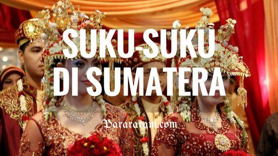 SUKU-SUKU DI SUMATRA