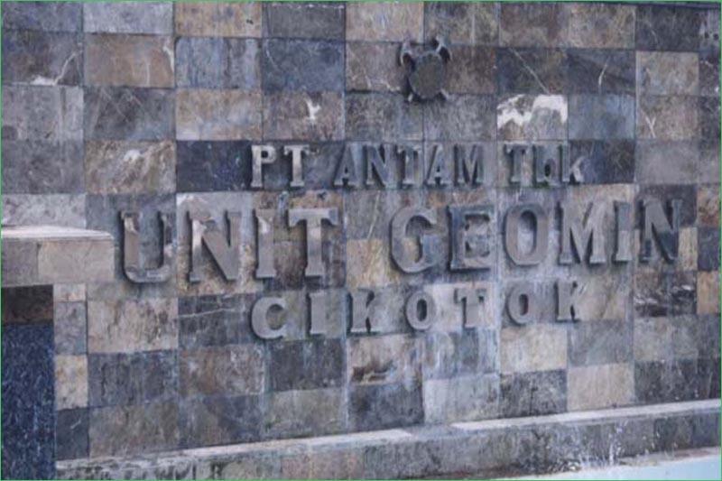 Tambang Emas Cikotok, Jawa Barat