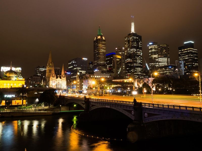 Nama-nama Negara di Benua Australia melbourne negara bagian