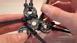 cara membuat spinner dari baut