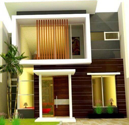 400 Gambar Rumah Minimalis Modern Lantai Dua Terbaik