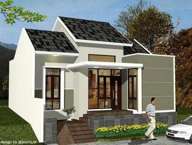 570 Gambar Desain Rumah Sederhana Klasik Modern Paling Keren Unduh
