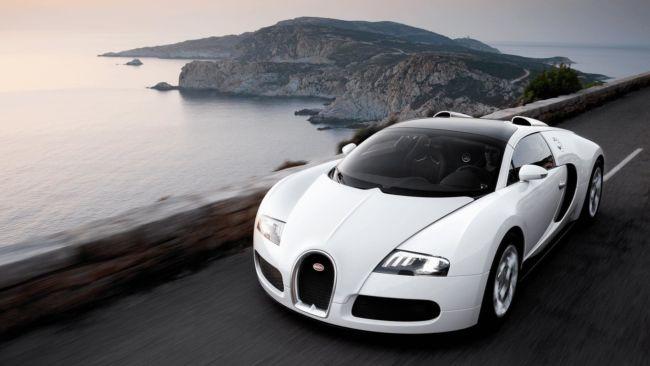 Gambar Mobil Balap Bugatti Veyron Grand Sport