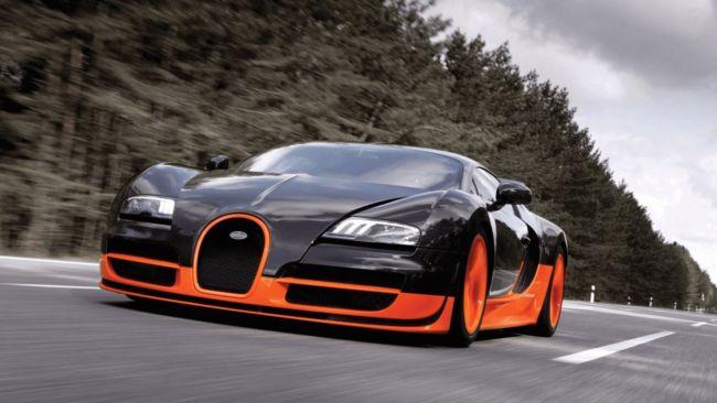 Wallpaper mobil sport Bugatti Veyron