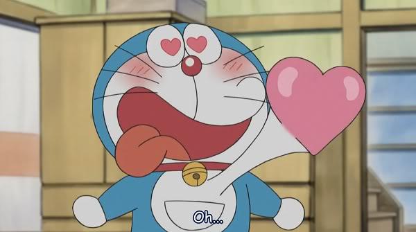 Doraemon jatuh cinta