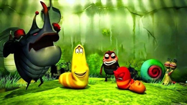 Gambar Lucu Kartun larva