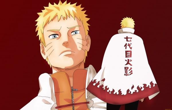 Gambar Naruto saat jadi Hokage