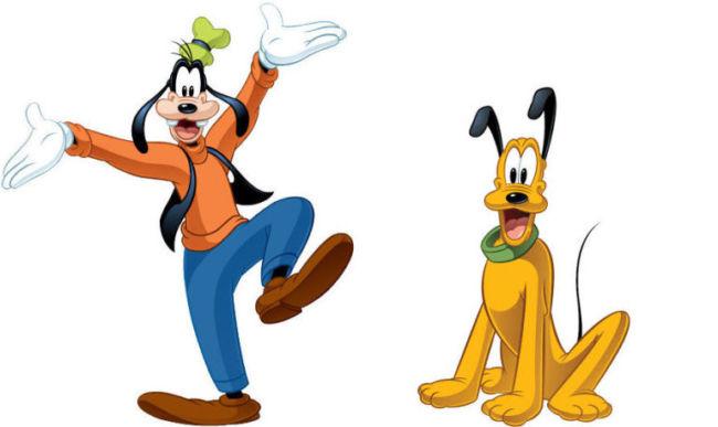 Gambar lucu goofy and pluto