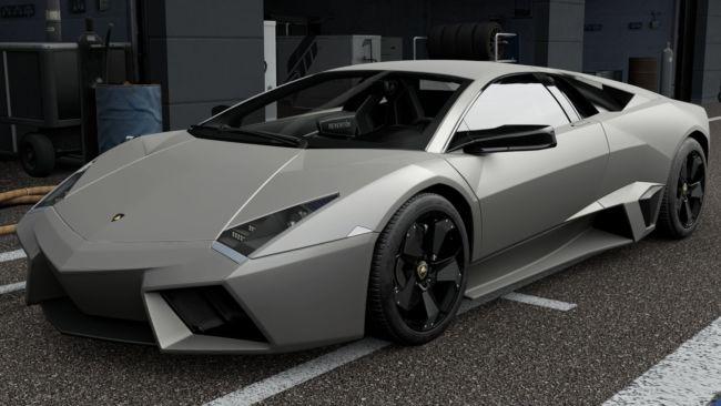 Gambar Mobil sport Lamborghini Reventon
