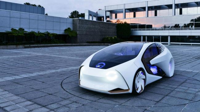 Mobil futuristik Toyota i-Series