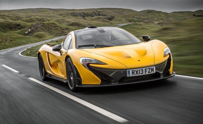 Gambar Mobil mewah McLarenP1