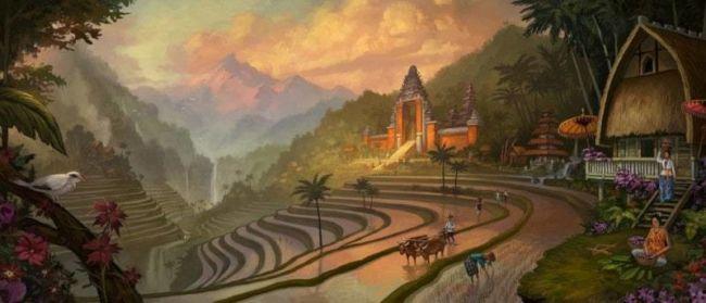 Pemandangan Bali