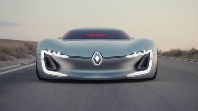 Gambar Mobil sport Renault Trezor